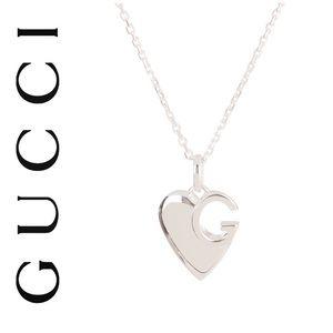 Gucci Sterling Silver Charlotte Heart Neck…